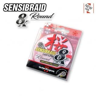 Плетеный шнур SENSIBRAID 8X  размотка 150 м