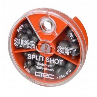 Набор мягких грузиков CTEC SUPER SOFT SHOT 4