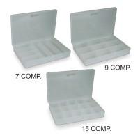 Пластиковая коробка с перегородками Light Boxes