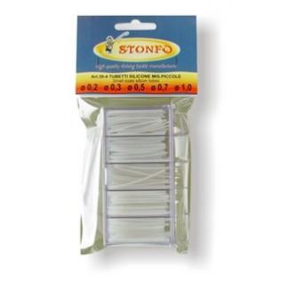 Набор силиконовых кембриков  STONFO BOX CLEAR SILICON TUBE